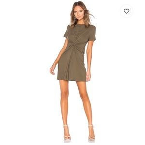 Theory Knot Tee Dress. Size S. NWT. Retail- $200